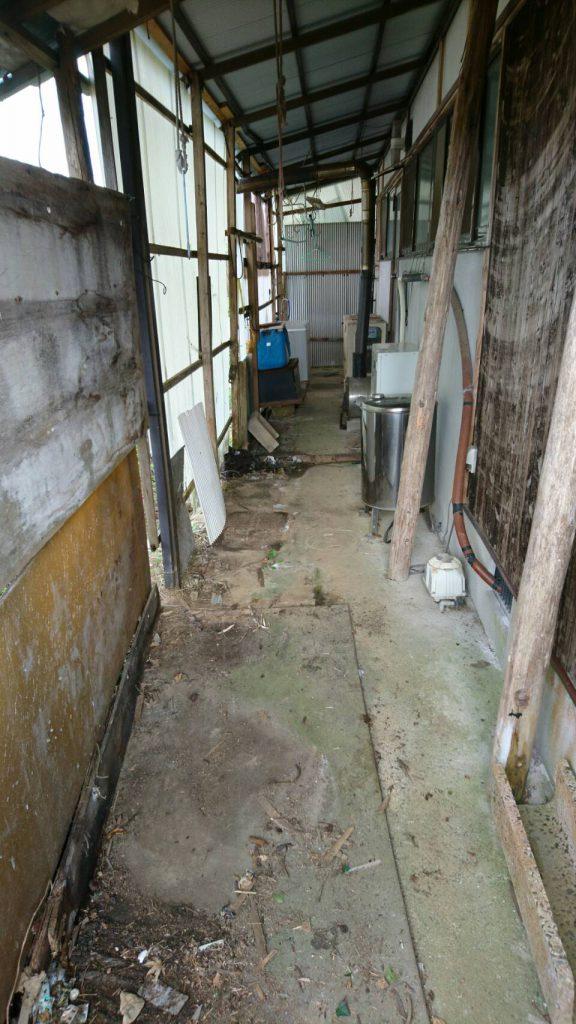 岡山市北区奥田_納屋の粗大ゴミ撤去