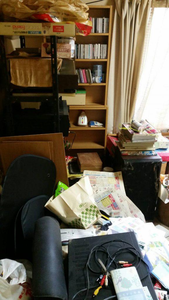 岡山市北区野田_アパート引っ越し_DVDプレイヤーなど