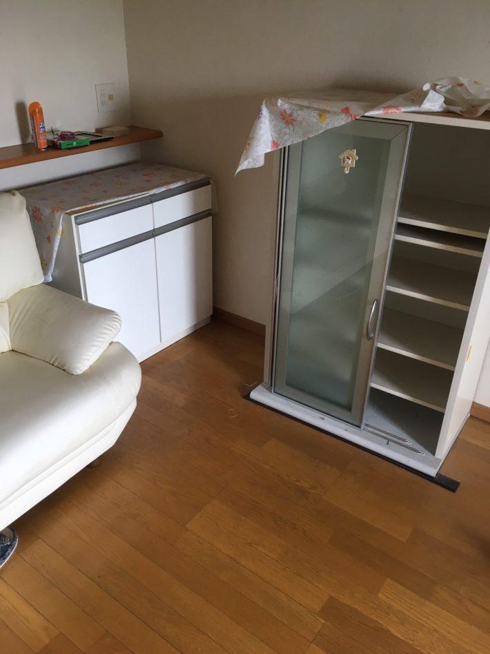 岡山市北区弓之町で不用品回収した家具