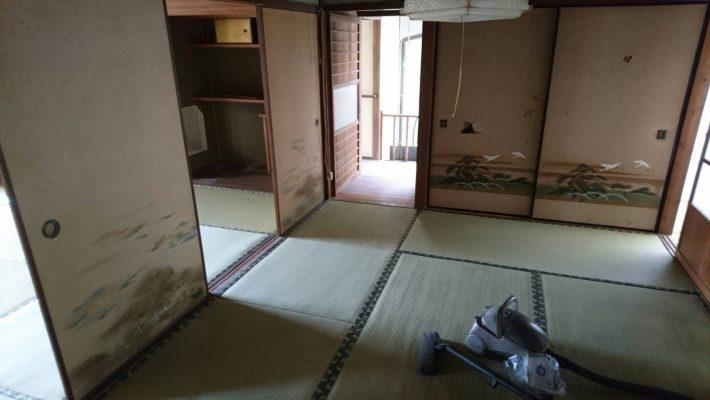 不用品回収_岡山市北区大元_回収後の部屋