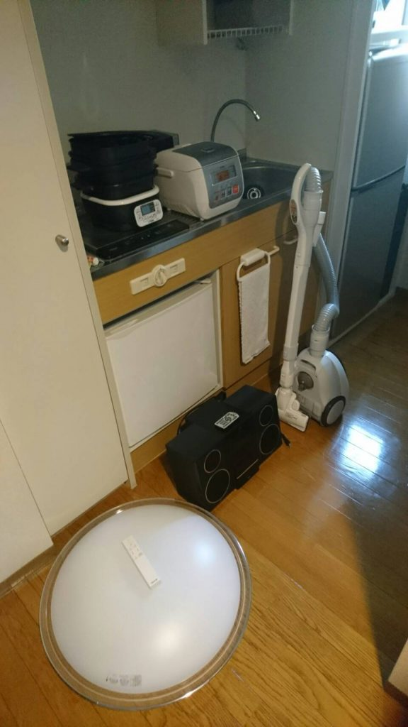 不用品回収_岡山市北区昭和町_流し台の炊飯器