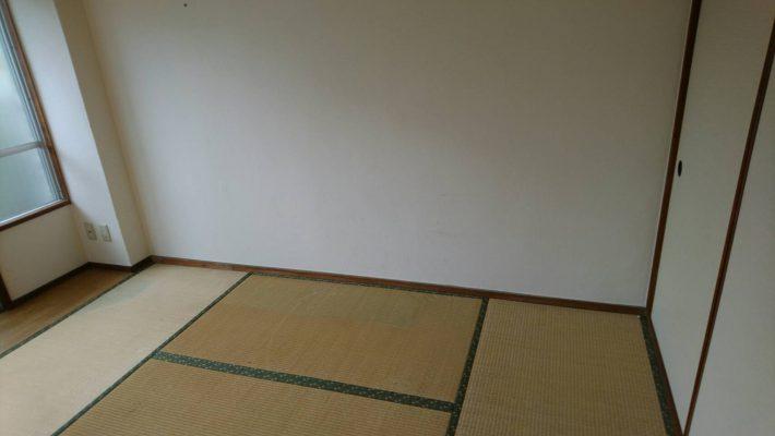 不用品回収_岡山市中区円山_和室作業後