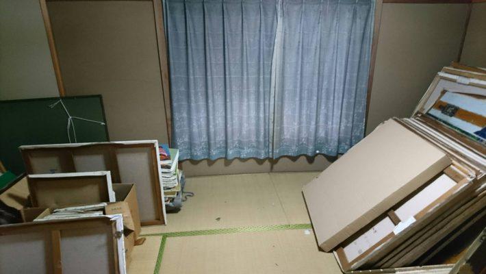 不用品回収_岡山市北区中井町一丁目_2階和室1