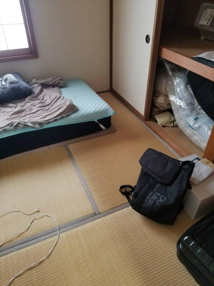 倉敷市中庄_作業作業後の和室
