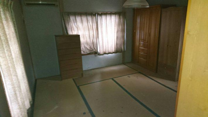 岡山市中区高島一丁目_不用品回収後の和室