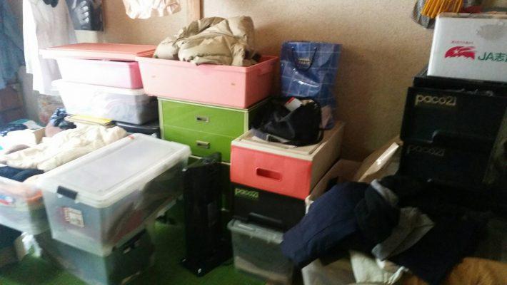 岡山市南区浦安_不用品回収事例_和室の粗大ゴミ