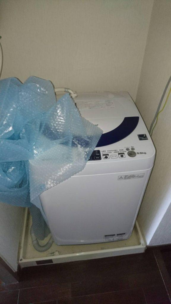 岡山市北区上中野の不用品_洗濯機