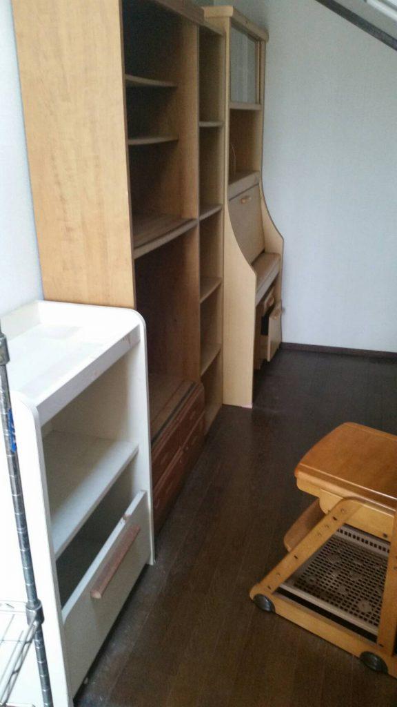 不用品回収_岡山市北区延友_廊下の品を回収