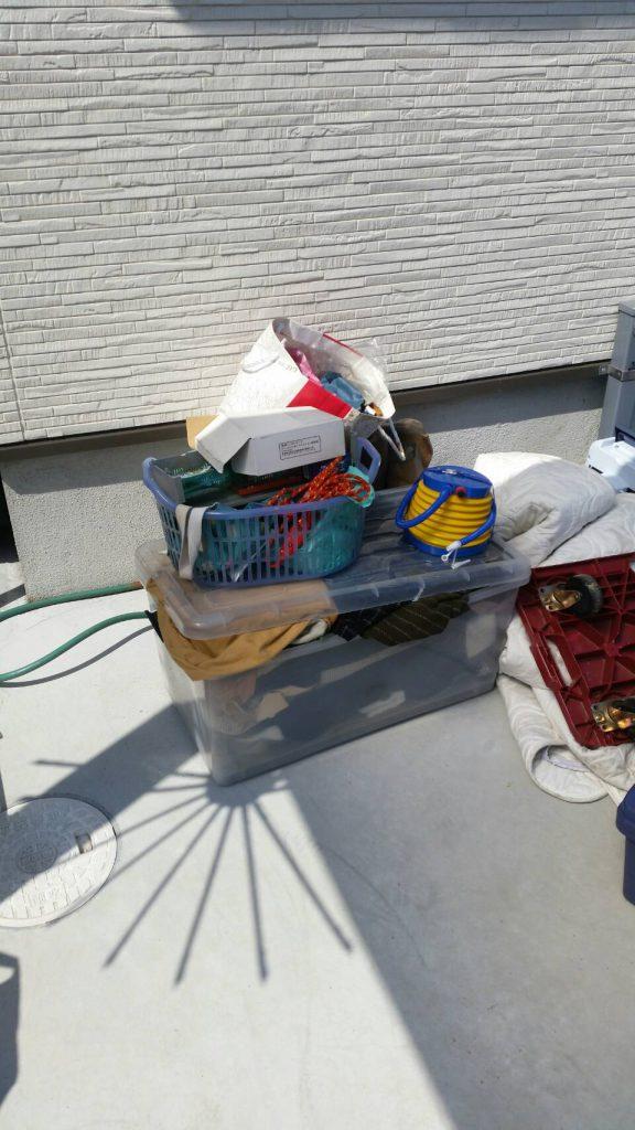 岡山市北区清心町_不用品回収_庭の粗大ゴミ