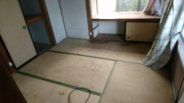 岡山市北区建部町の不用品回収_寝室