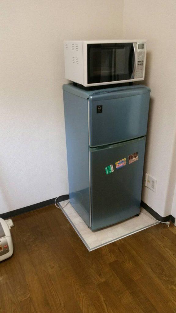 不用品回収_岡山市南区今在家_冷蔵庫回収前