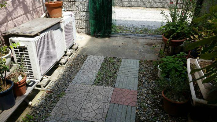 不用品回収_岡山市北区一宮_庭の粗大ゴミ片付け後