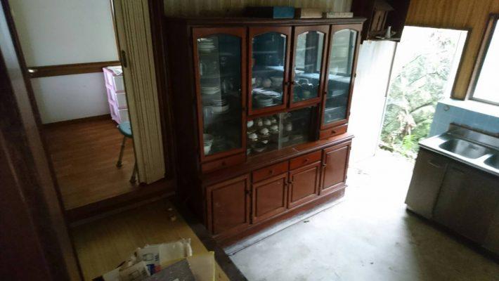 不用品回収_岡山市北区大元_回収前のキッチン