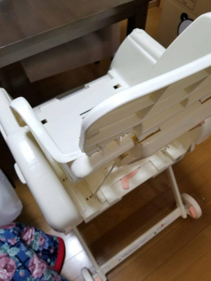 岡山市北区谷万成_お部屋の掃除_処分したベビーチェアー