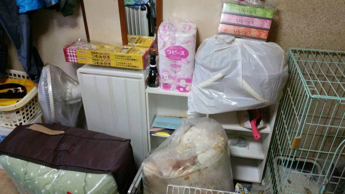 不用品回収_岡山市北区鹿田町一丁目_居間の粗大ゴミ
