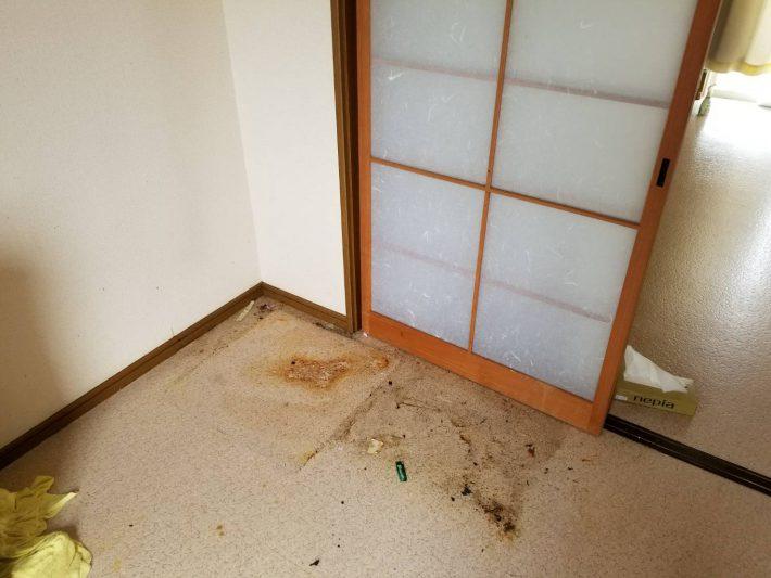 岡山市南区藤田_お部屋の掃除_台所2