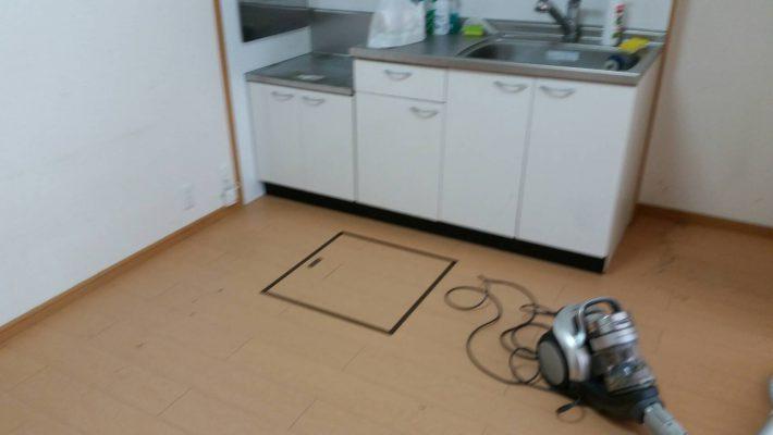 岡山市北区栢谷_不用品回収_キッチンの不用品を回収した後