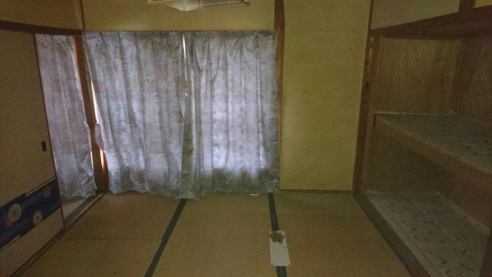 不用品回収_岡山市北区延友_作業後の和室