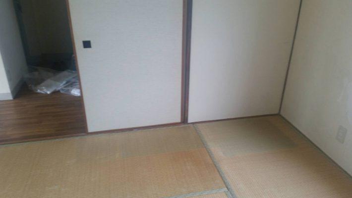 岡山市北区尾上_片付け後の和室