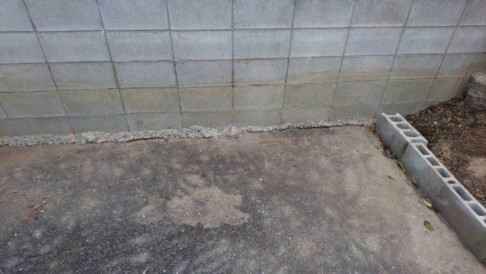 不用品回収_岡山市北区昭和町_車庫の粗大ゴミを回収した後