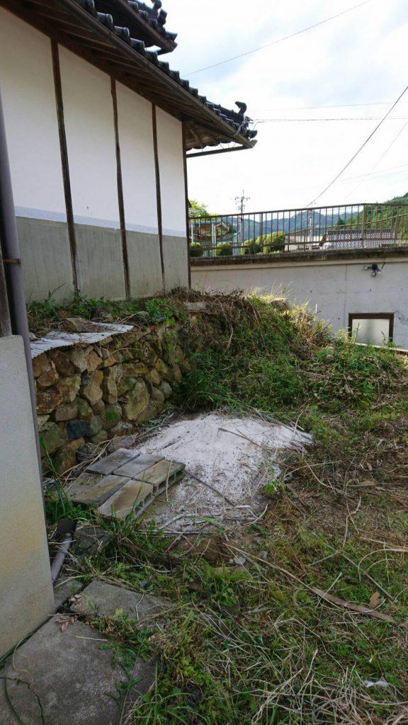 不用品回収_岡山市北区延友_プレハブ撤去後の写真