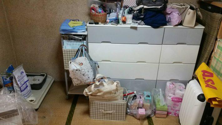 不用品回収_岡山市北区鹿田町一丁目_子供部屋の粗大ゴミ