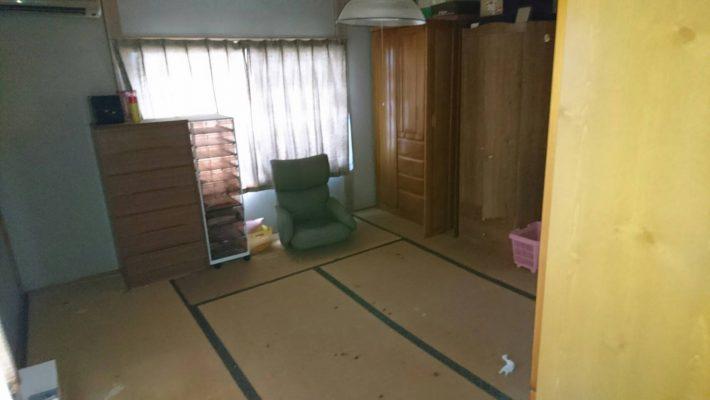 岡山市中区高島一丁目_不用品回収前の和室