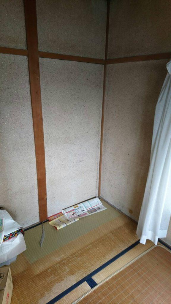 岡山市北区野田_アパート_和室回収後