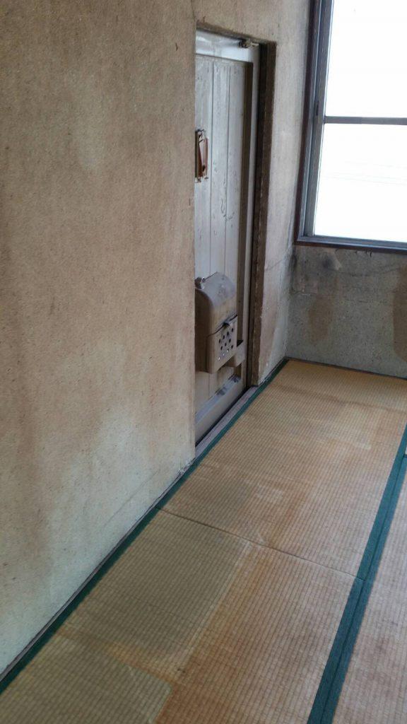 岡山市北区庭瀬_粗大ゴミ片付け_和室片付け後