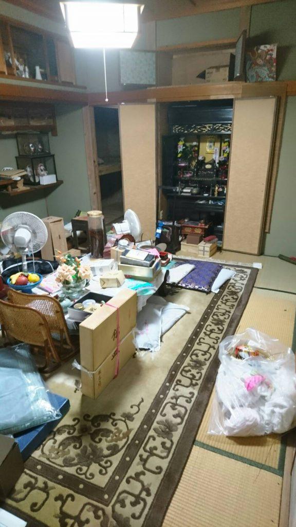 不用品回収_岡山市北区高松稲荷_和室