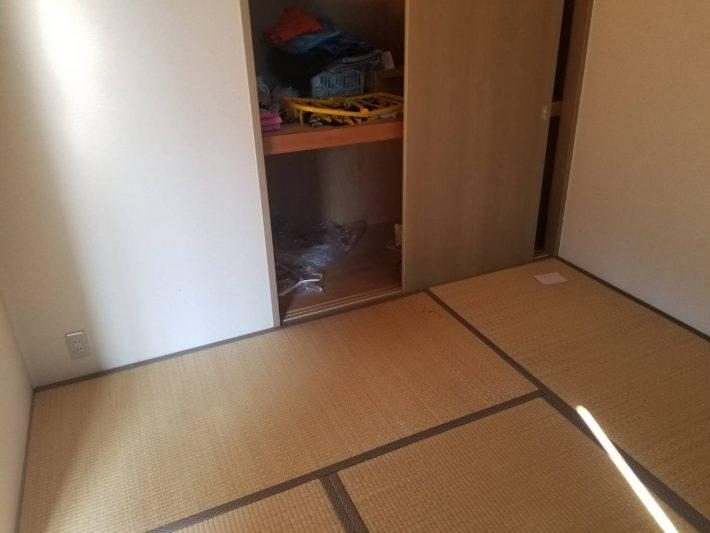 不用品回収_岡山市南区今在家_和室作業後