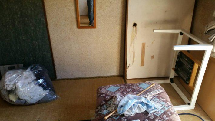 不用品回収_岡山市北区鹿田町一丁目_和室の粗大ゴミ